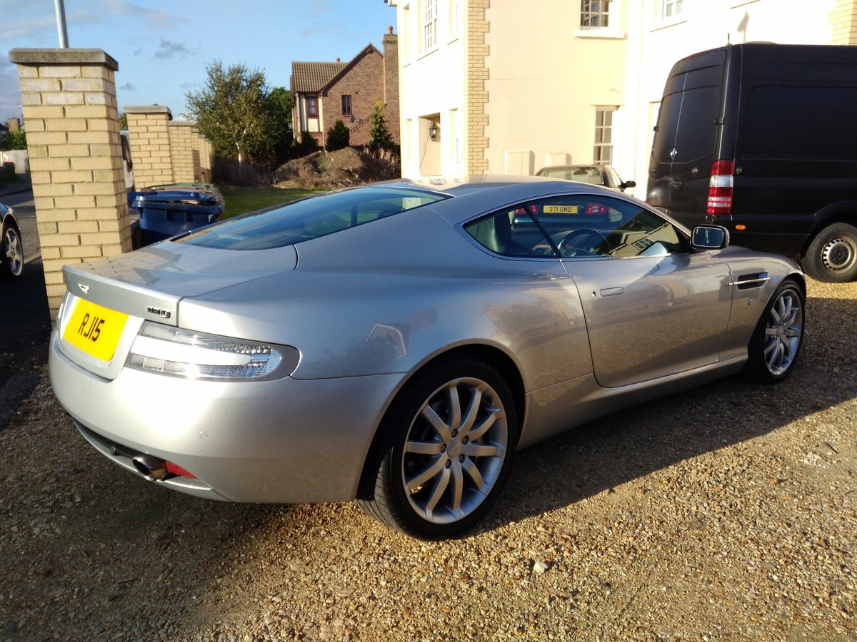 2005 Aston Martin DB9, V12, FSH, Cheapest In UK For Sale (picture 4 of 6)
