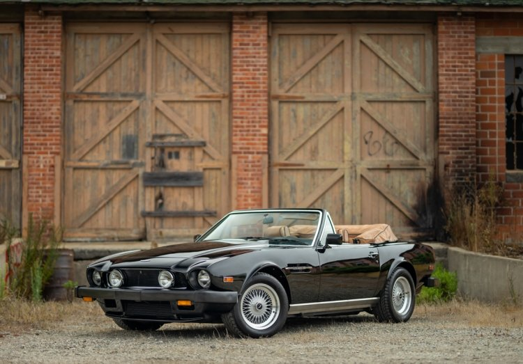 1989 Aston Martin V8 Volante Prince of Wales Rare 1 of 5  For Sale (picture 1 of 6)
