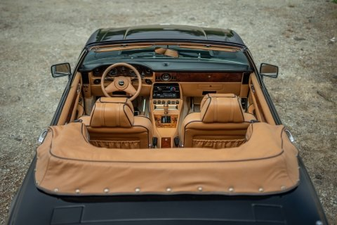 1989 Aston Martin V8 Volante Prince of Wales Rare 1 of 5  For Sale (picture 4 of 6)