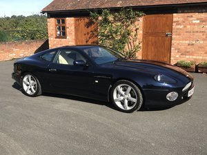 2004 ASTON DB7 GTA, 22800 MILES,16 STAMPS ! For Sale