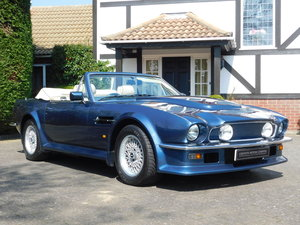 1987 Aston Martin V8 Vantage X-Pack Volante 5.3 Manual
