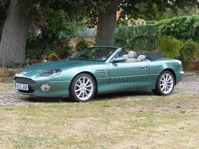 2000 Aston Martin DB7 Vantage Volante For Sale (picture 1 of 6)