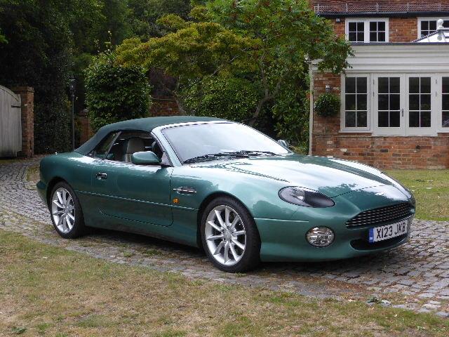 2000 Aston Martin DB7 Vantage Volante For Sale (picture 2 of 6)