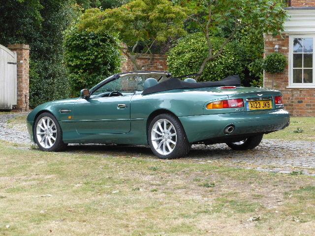 2000 Aston Martin DB7 Vantage Volante For Sale (picture 3 of 6)