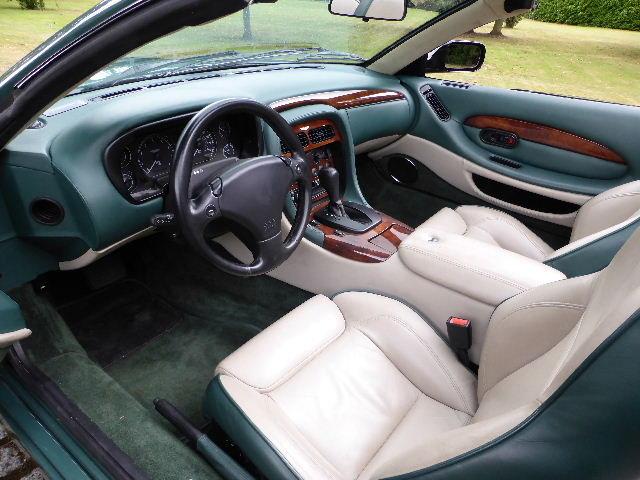 2000 Aston Martin DB7 Vantage Volante For Sale (picture 4 of 6)