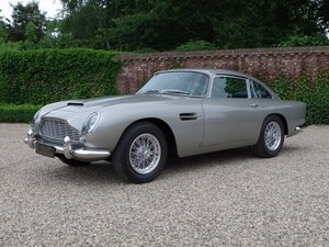 1964 Aston Martin DB 5 matching numbers, manual 5-speed, LHD