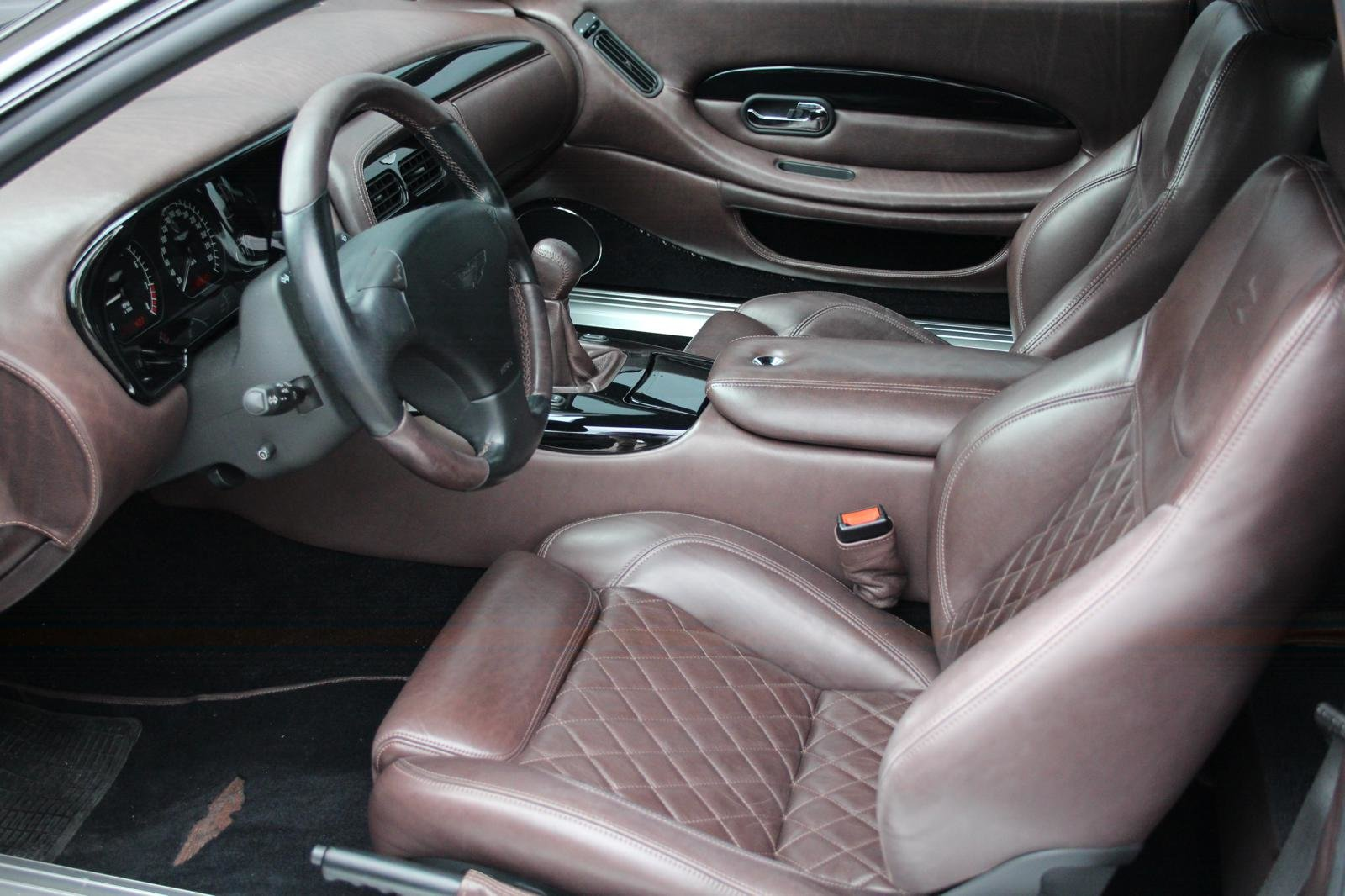 2004 Aston Martin DB 7 GT Zagato LHD  For Sale (picture 3 of 6)