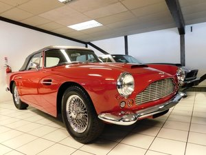 1962 Aston Martin DB4 Series 5 Vantage Convertible For Sale