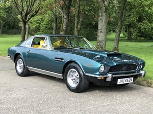 1975 Aston Martin AMV8 series 3  Low mileage example