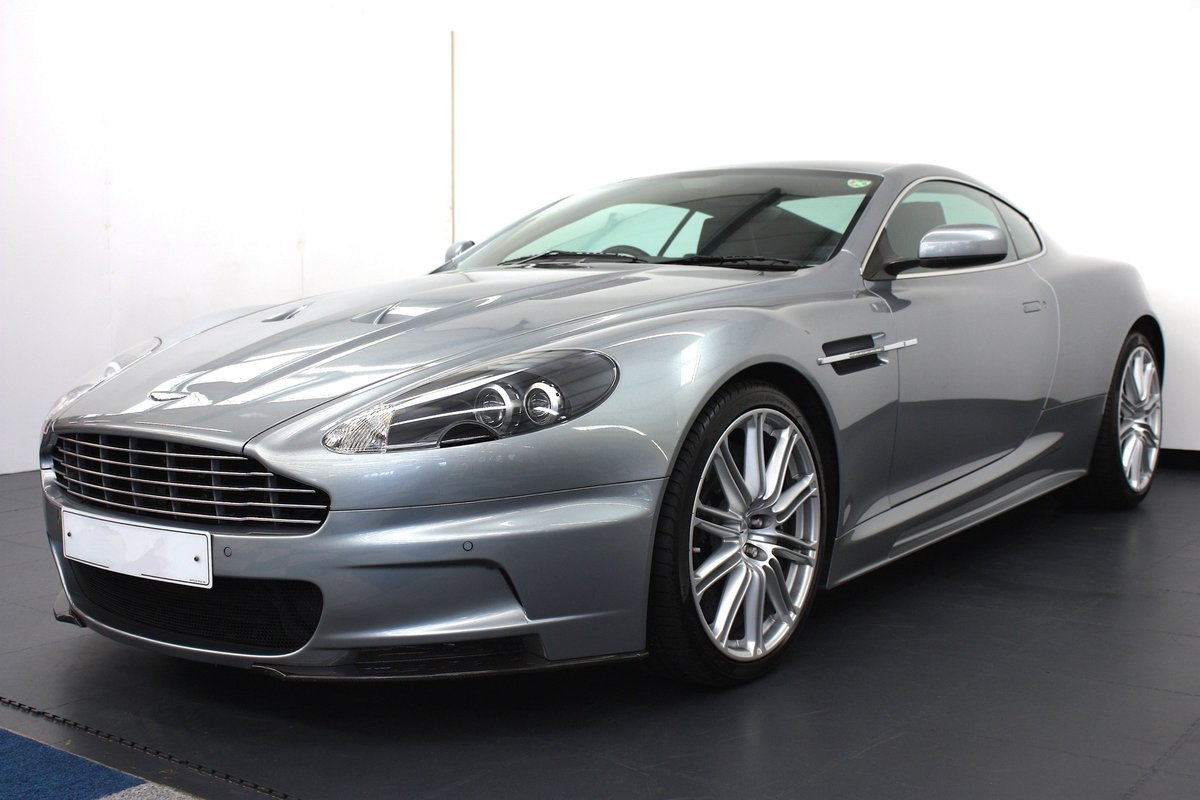 2008 ASTON MARTIN DBS 6SPEED MANUAL, 16K MILES, 1 OF 1 COLOUR  For Sale (picture 2 of 6)