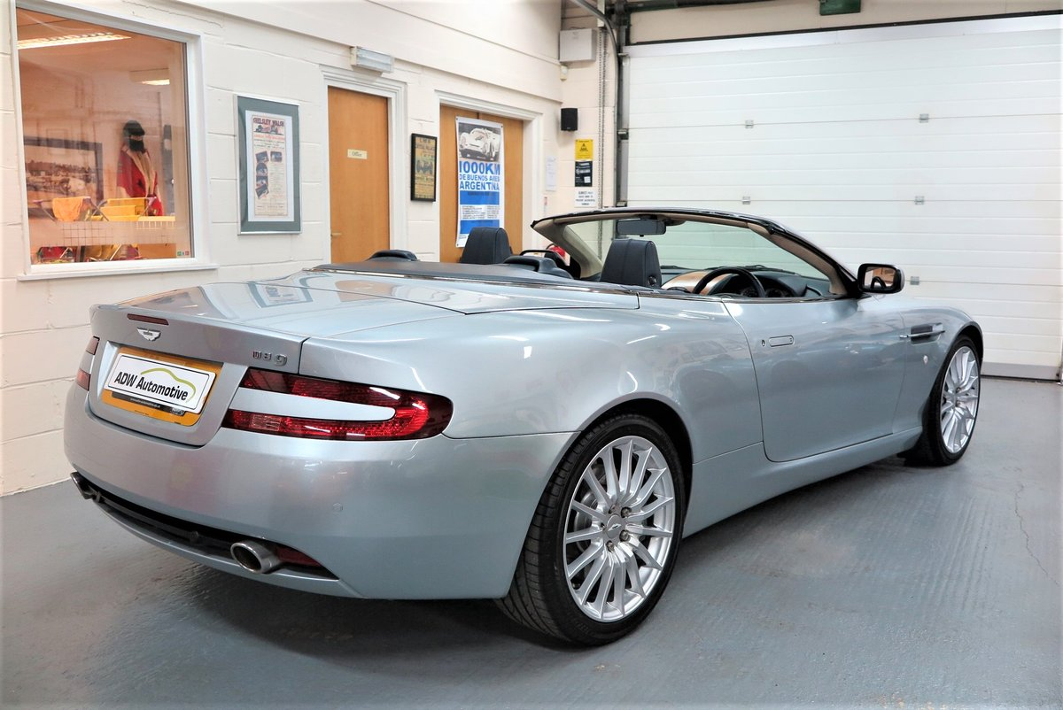 2007 07 Aston Martin DB9 6.0 V12 Volante Automatic Cab SOLD (picture 3 of 6)