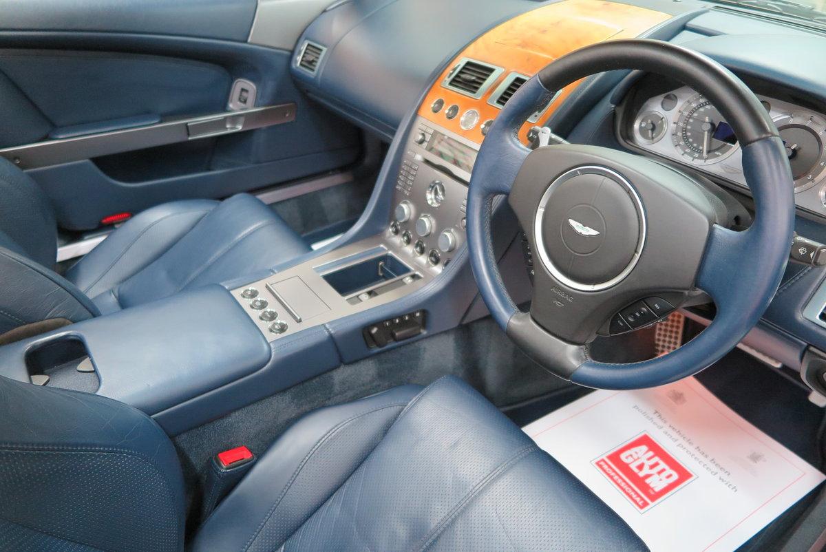 2007 07 Aston Martin DB9 6.0 V12 Volante Automatic Cab SOLD (picture 4 of 6)