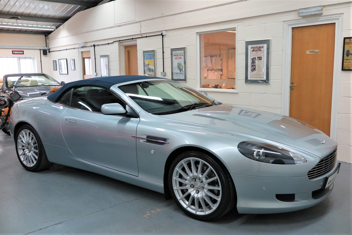 2007 07 Aston Martin DB9 6.0 V12 Volante Automatic Cab SOLD (picture 6 of 6)