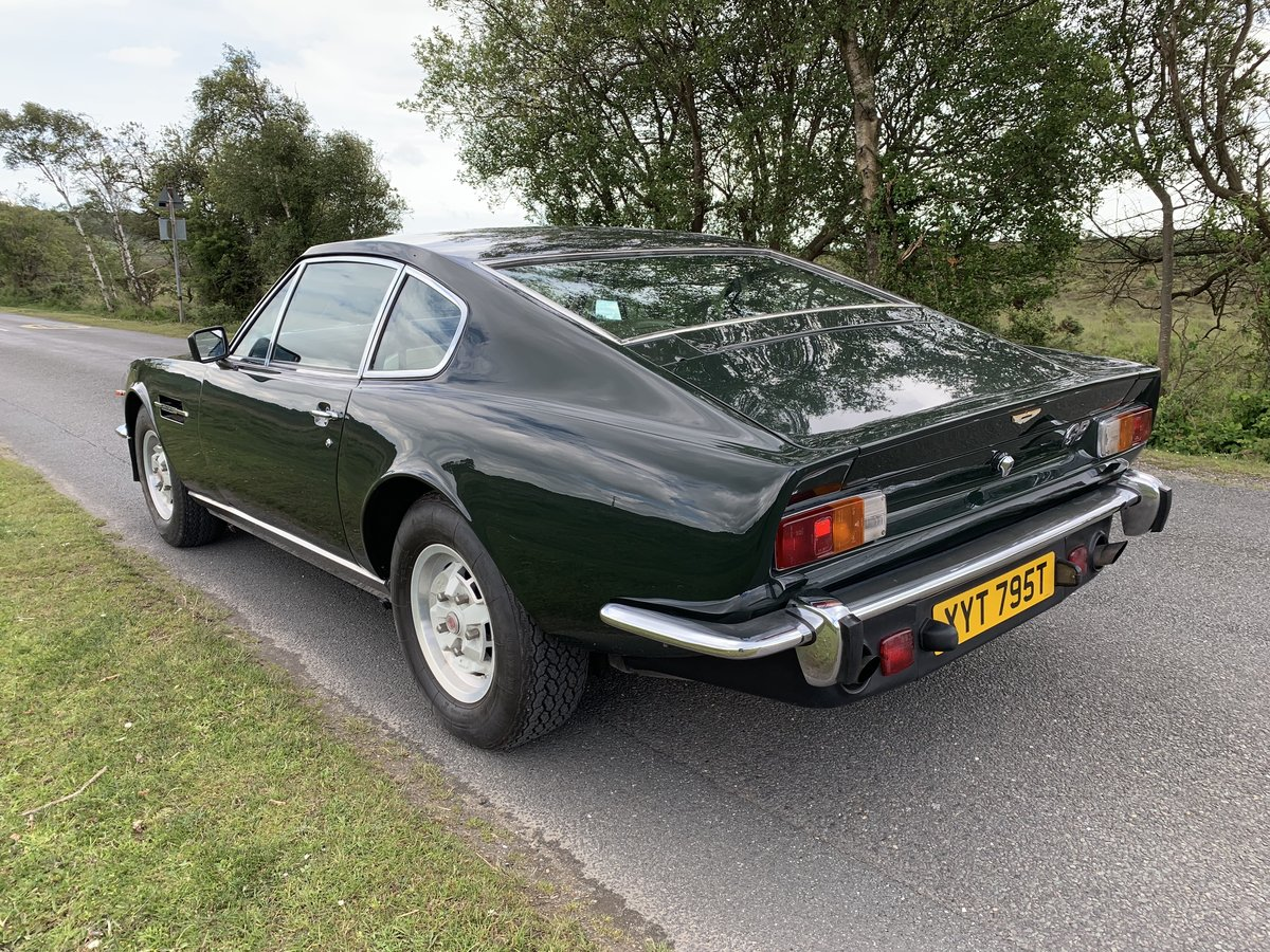 1978 Aston Martin V8 Oscar India 1979 Rare Manual 1 of 12 For Sale (picture 4 of 6)