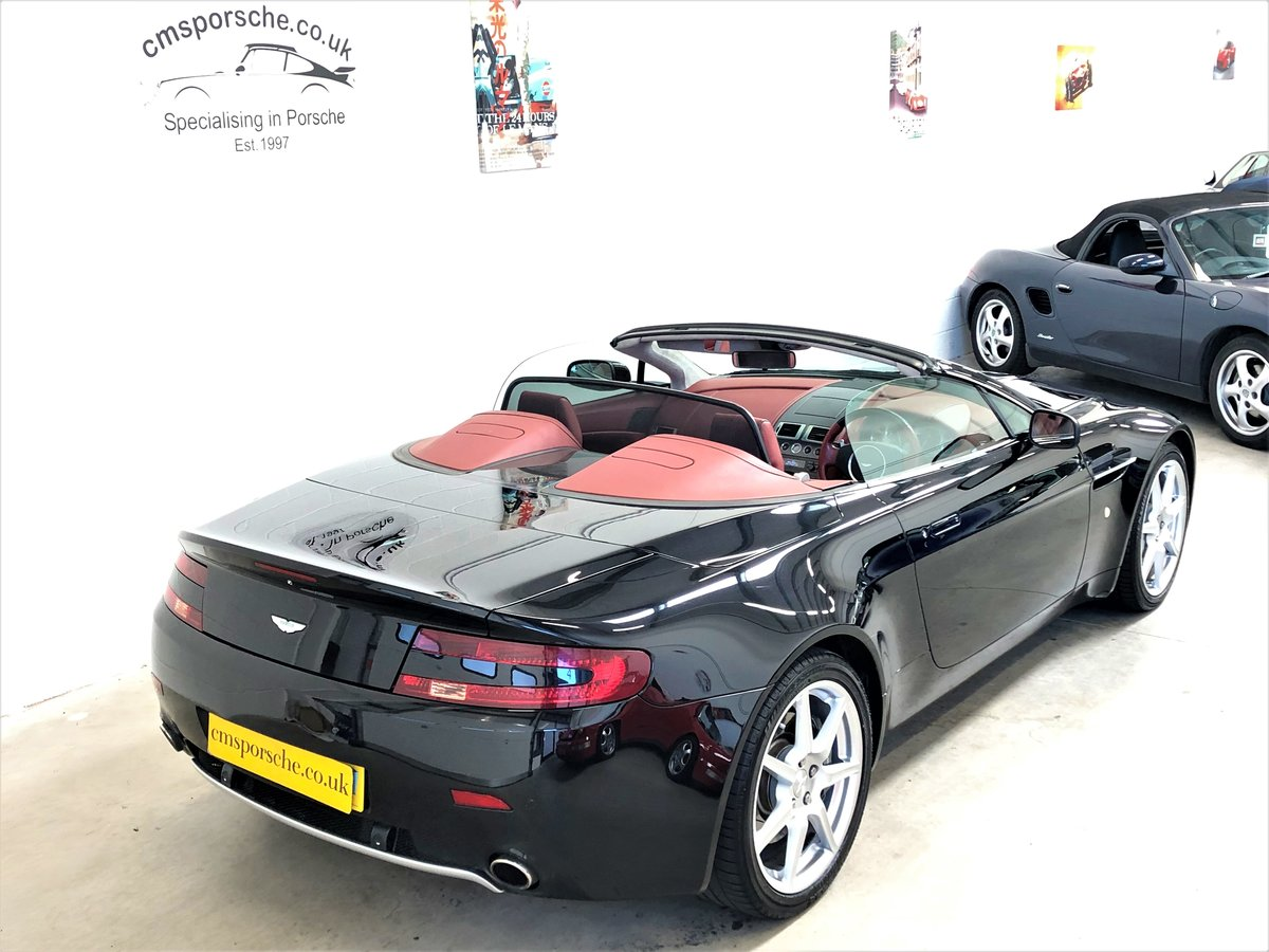 2007 Aston Martin V8 Vantage 4.3L Convertible Sportshift SOLD (picture 3 of 6)