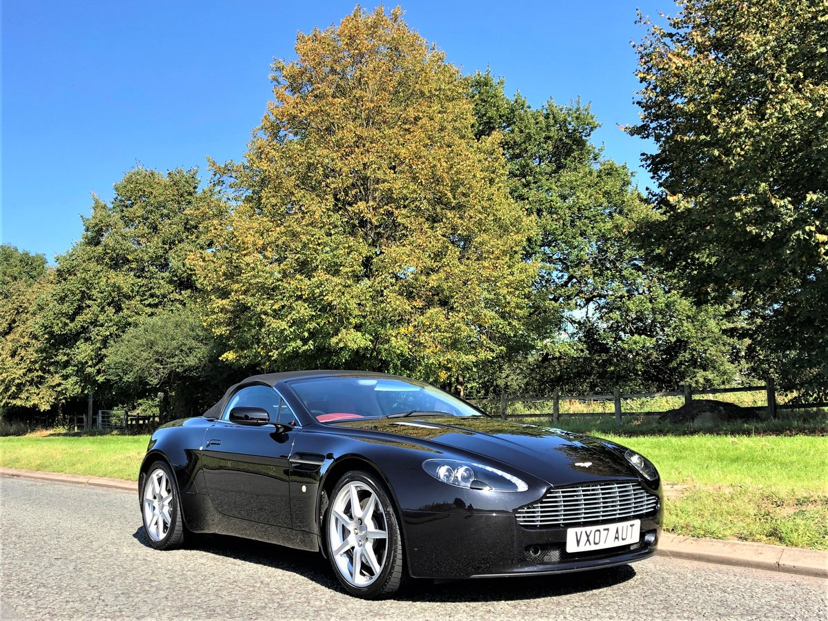 2007 Aston Martin V8 Vantage 4.3L Convertible Sportshift SOLD (picture 4 of 6)