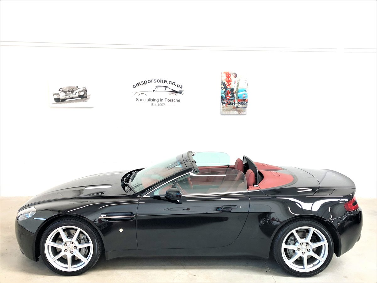 2007 Aston Martin V8 Vantage 4.3L Convertible Sportshift SOLD (picture 6 of 6)