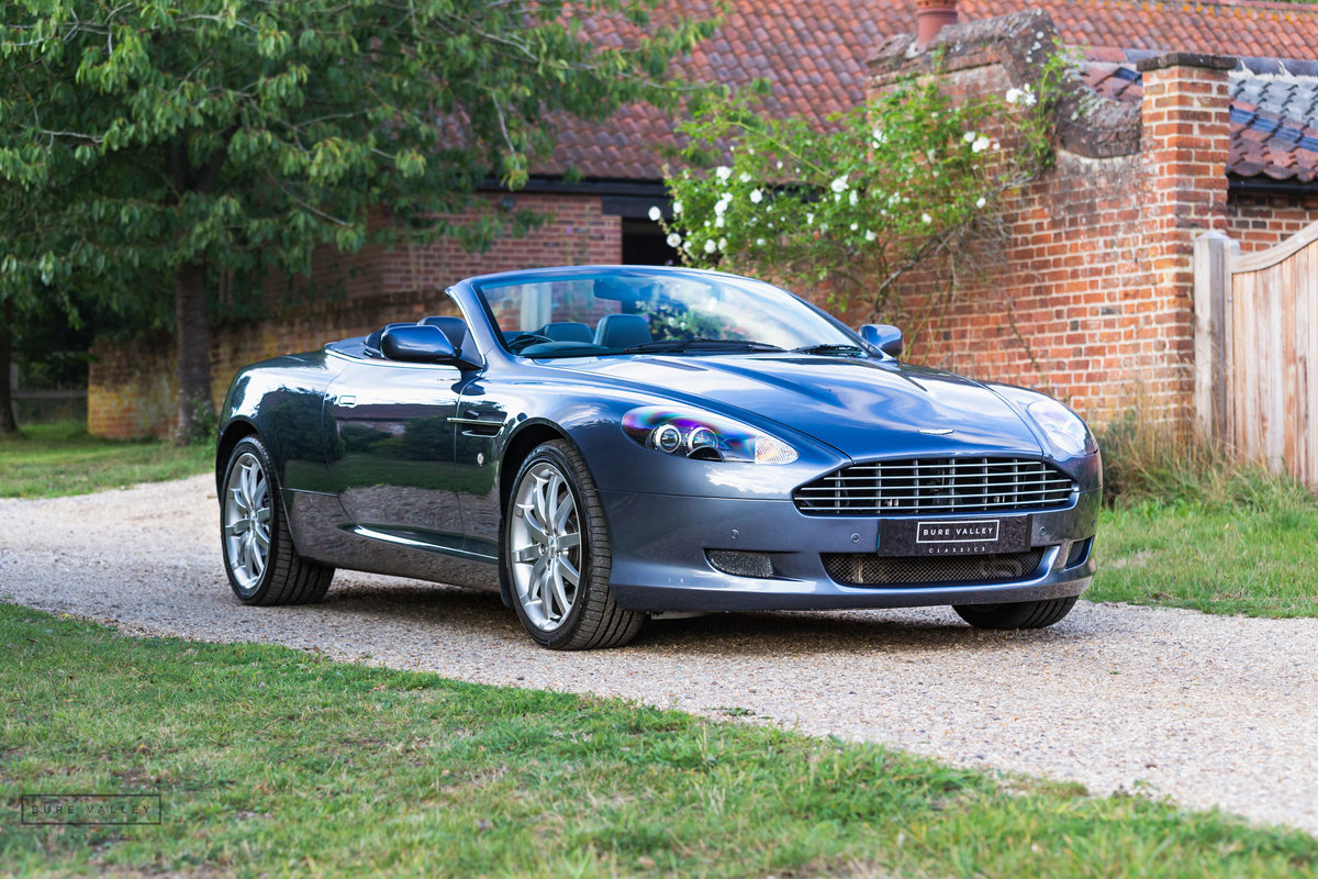 2005 Aston Martin DB9 Volante SOLD (picture 1 of 6)