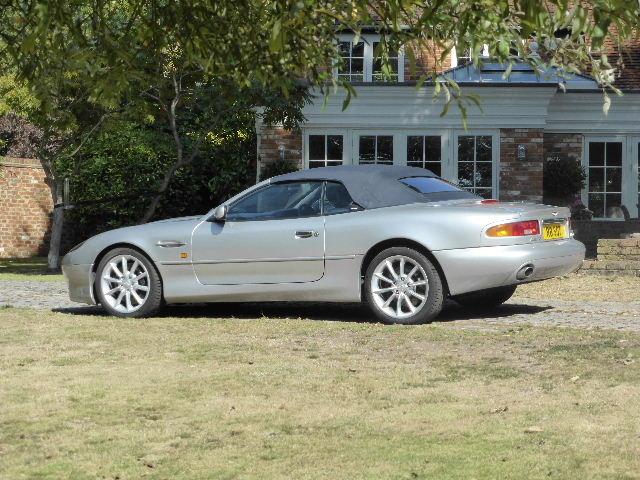 2001 Aston Martin DB7 Vantage Volante For Sale (picture 3 of 6)