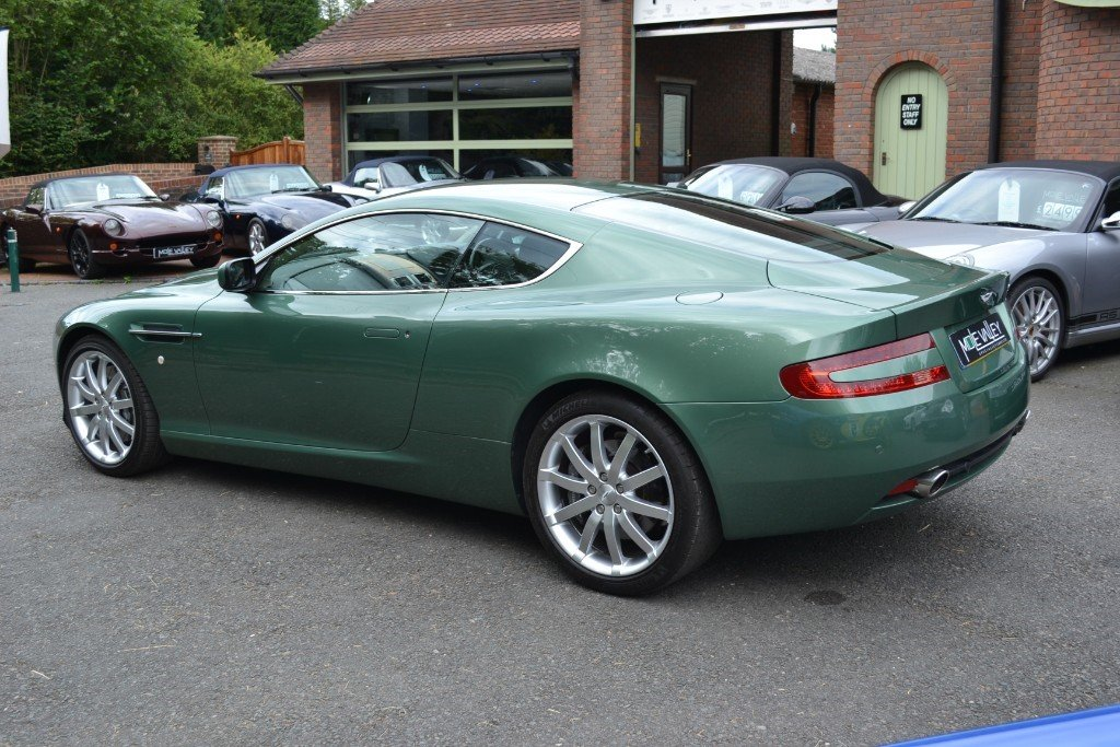2006 Aston Martin DB9 MANUAL!!! For Sale (picture 2 of 6)