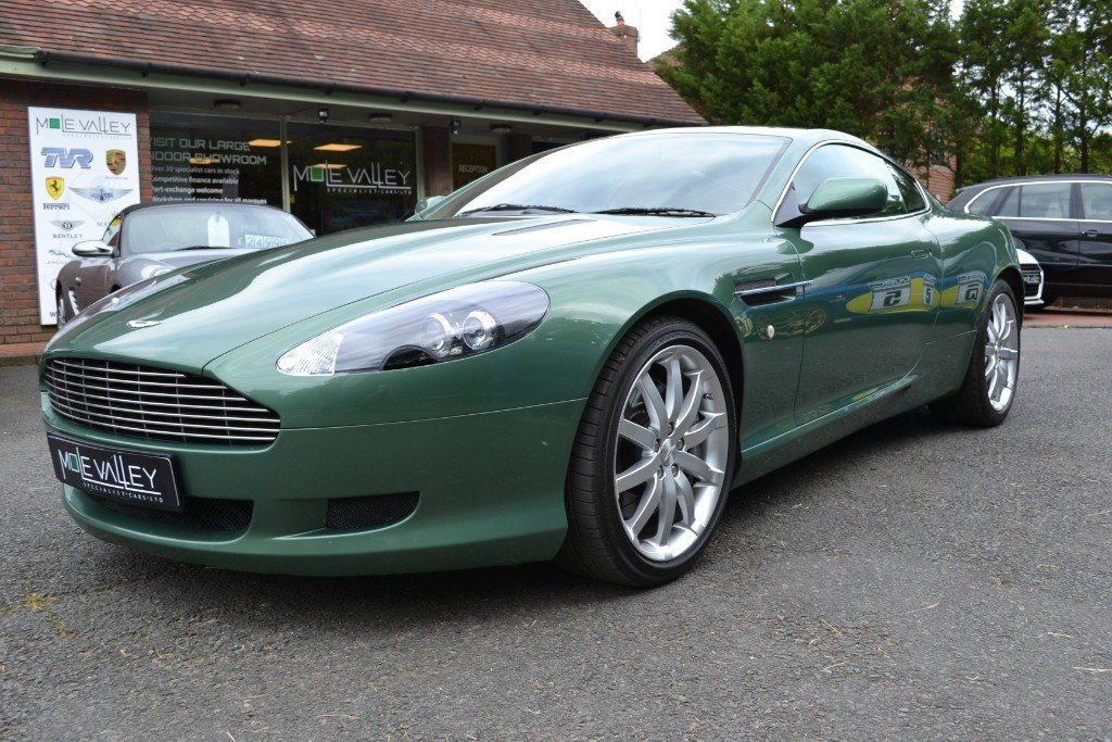 2006 Aston Martin DB9 MANUAL!!! For Sale (picture 3 of 6)