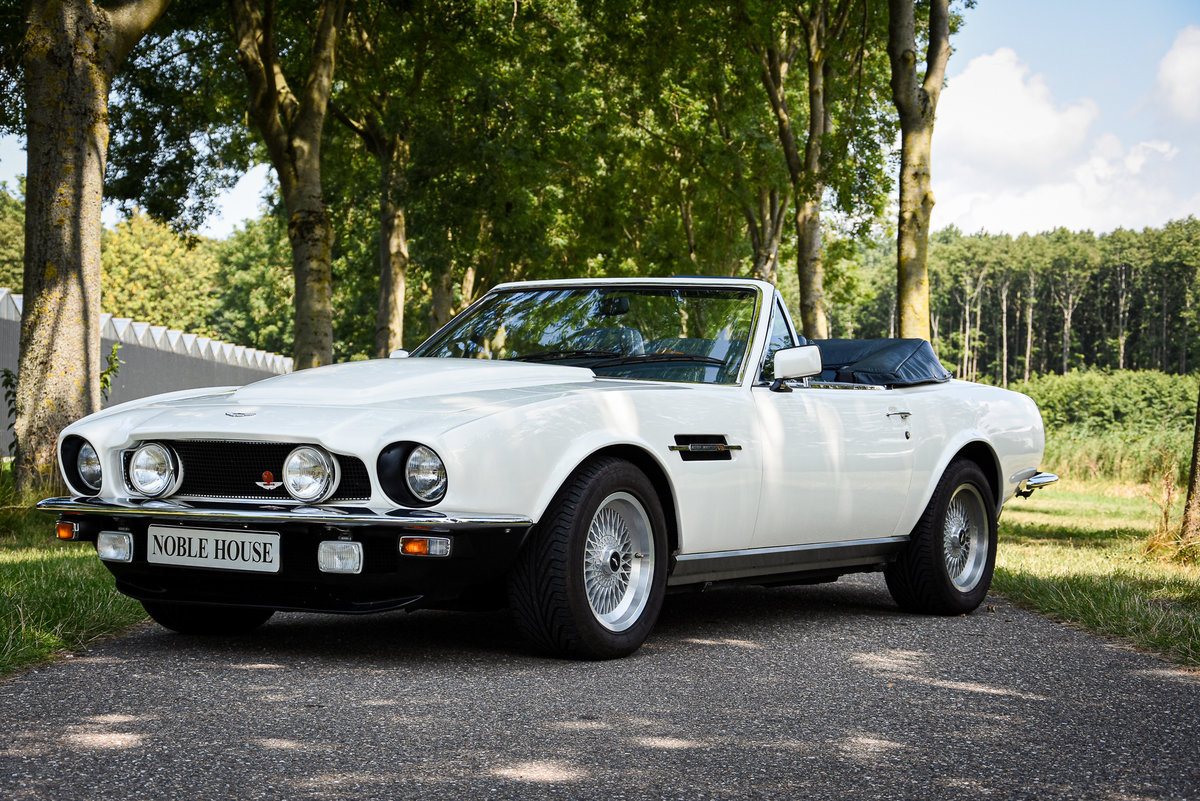 """1989 Very rare LHD Aston Martin V8 Volante """"Prince of Wales""""  For Sale (picture 1 of 6)"""