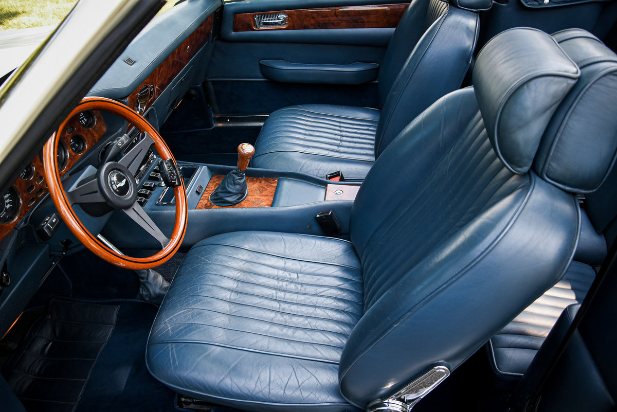 """1989 Very rare LHD Aston Martin V8 Volante """"Prince of Wales""""  For Sale (picture 4 of 6)"""