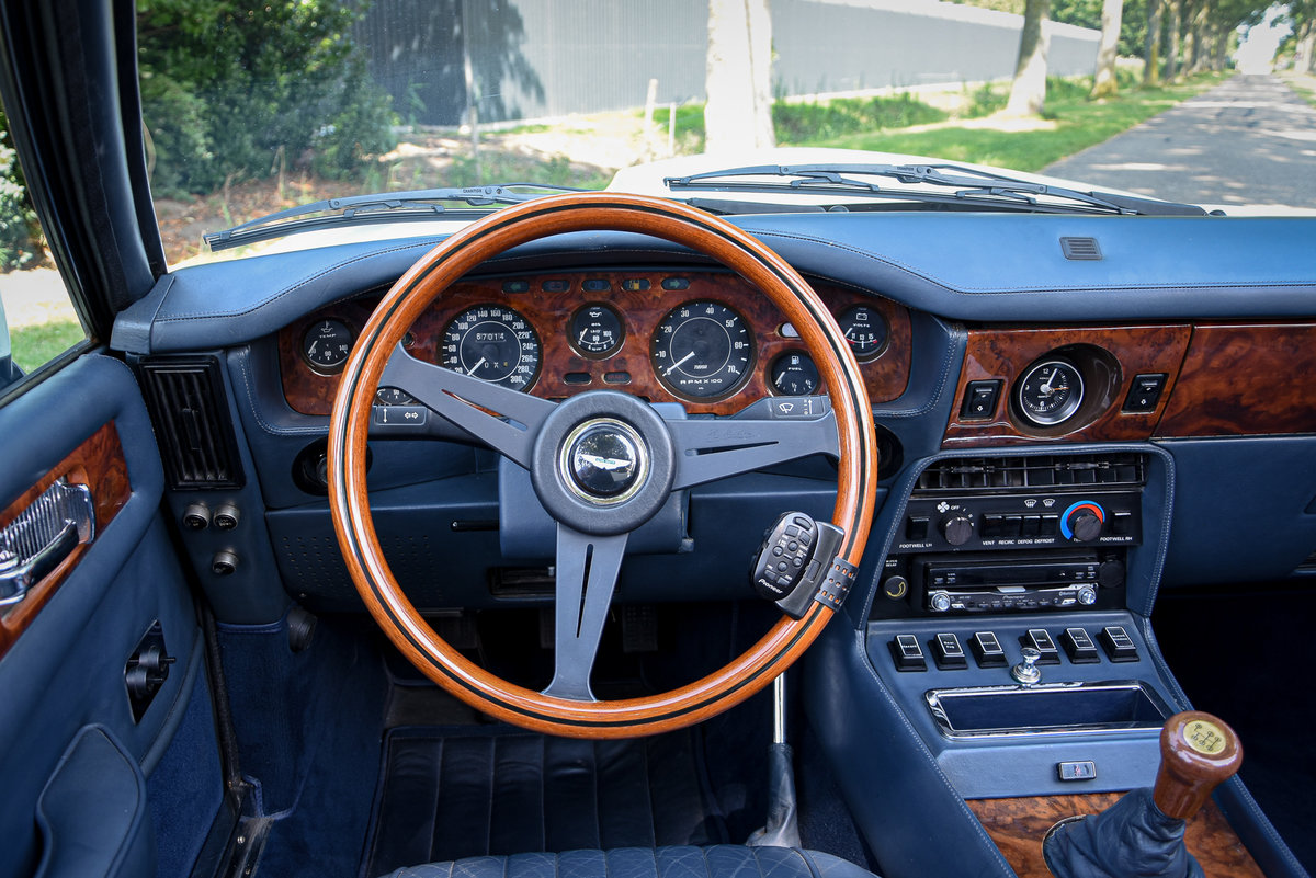 """1989 Very rare LHD Aston Martin V8 Volante """"Prince of Wales""""  For Sale (picture 5 of 6)"""