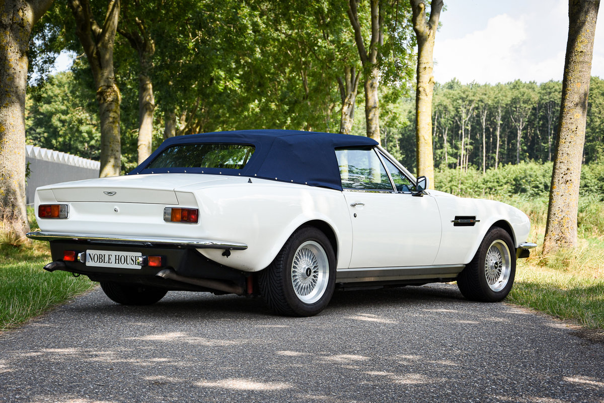 """1989 Very rare LHD Aston Martin V8 Volante """"Prince of Wales""""  For Sale (picture 3 of 6)"""