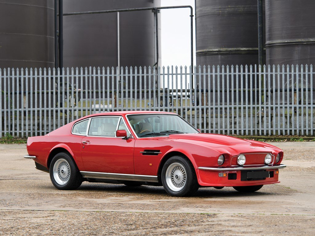 1988 Aston Martin V8 Vantage X-Pack  For Sale by Auction (picture 1 of 6)