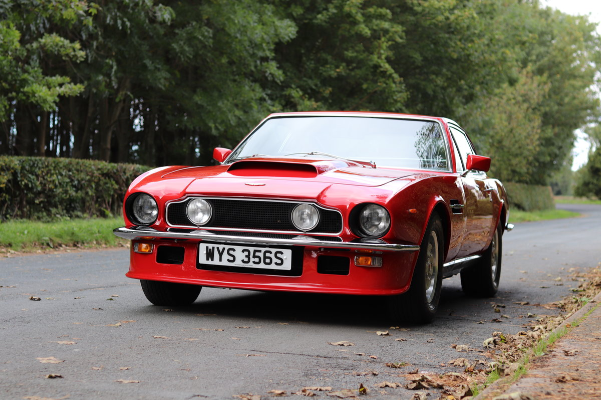 1978 Aston Martin V8 Series III S Specification - Full History  For Sale (picture 3 of 22)
