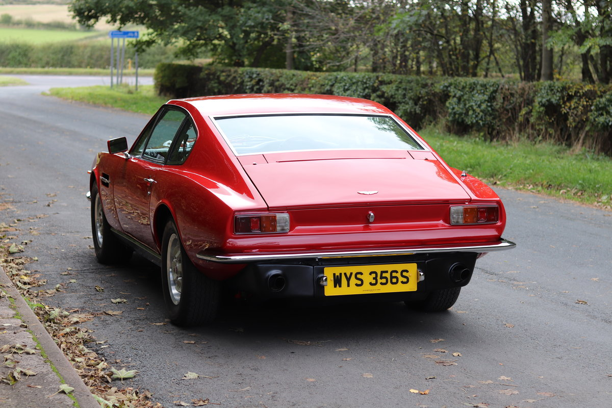 1978 Aston Martin V8 Series III S Specification - Full History  For Sale (picture 4 of 22)