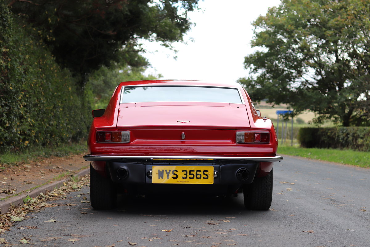 1978 Aston Martin V8 Series III S Specification - Full History  For Sale (picture 5 of 22)