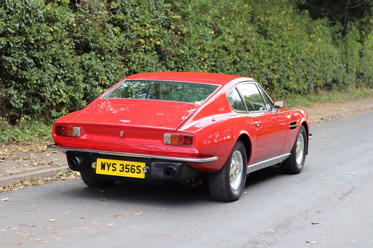 1978 Aston Martin V8 Series III S Specification - Full History  For Sale (picture 6 of 22)