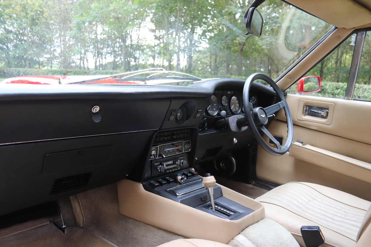 1978 Aston Martin V8 Series III S Specification - Full History  For Sale (picture 11 of 22)