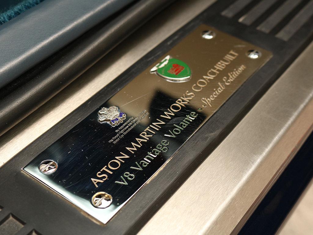 2000 Aston Martin    Works coachbuilt V8 Vantage Volante Special  For Sale (picture 11 of 12)