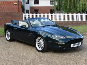 1998 Aston Martin DB7 I6 Volante Auto at ACA 2nd November
