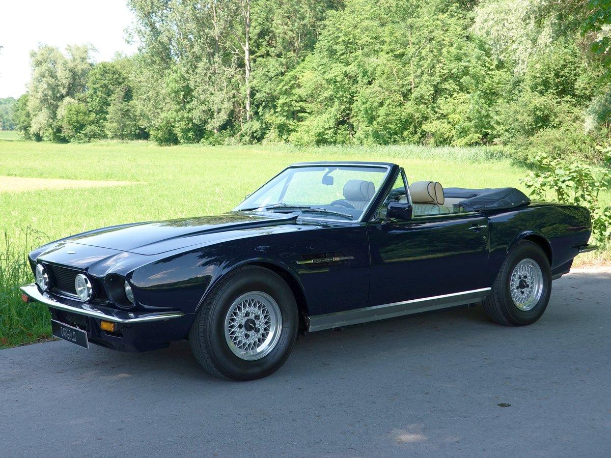 1986 Aston Martin V8 Volante, german restoration For Sale (picture 1 of 6)