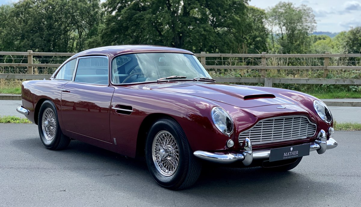 1964 Aston Martin DB5 Coupe  For Sale (picture 3 of 9)