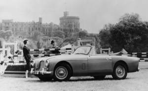 1955 Aston Martin Drophead Coupe
