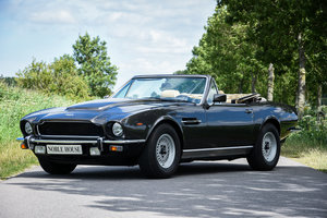 1985 Aston Martin V8 Volante (original LHD European car !)
