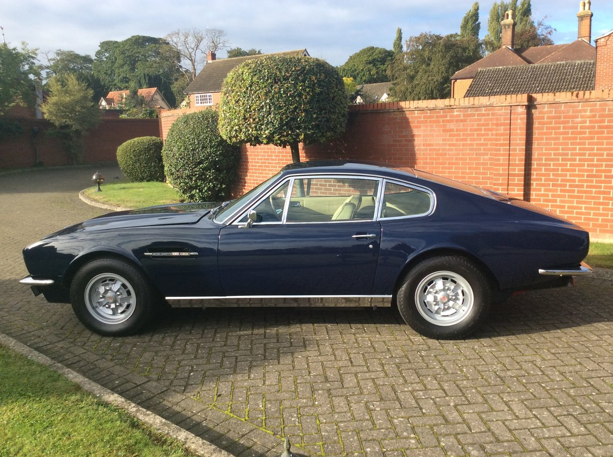 1972 Aston Martin DBS V8 Sports Saloon For Sale (picture 5 of 24)