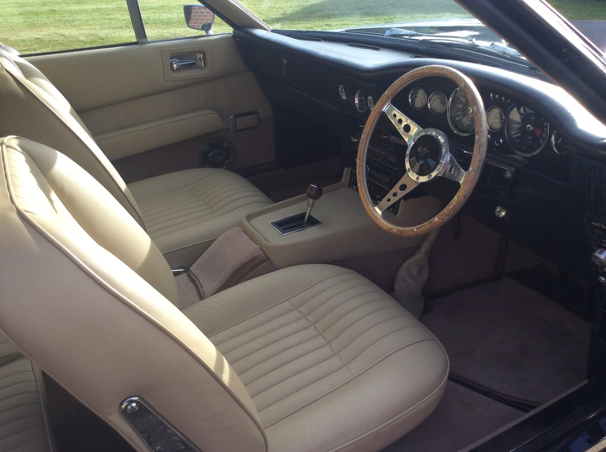 1972 Aston Martin DBS V8 Sports Saloon For Sale (picture 11 of 24)