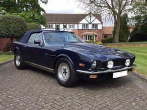 1985 Aston Martin Volante V8 LHD