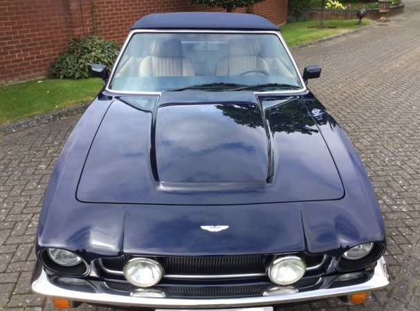 1985 Aston Martin Volante V8 LHD For Sale (picture 5 of 14)