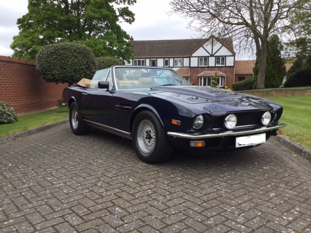 1985 Aston Martin Volante V8 LHD For Sale (picture 7 of 14)
