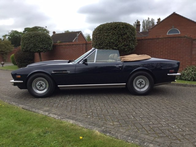 1985 Aston Martin Volante V8 LHD For Sale (picture 9 of 14)