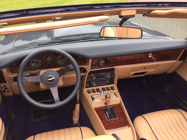 1985 Aston Martin Volante V8 LHD For Sale (picture 10 of 14)