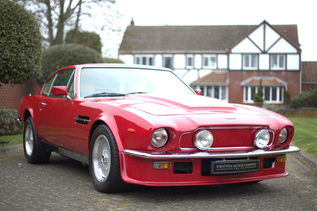 1985 Aston Martin V8 Vantage Sports Saloon For Sale (picture 1 of 15)