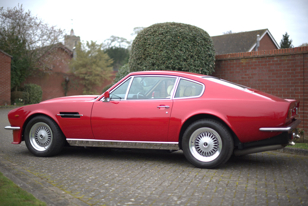 1985 Aston Martin V8 Vantage Sports Saloon For Sale (picture 4 of 15)